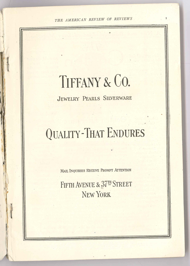 The American Review of Reviews December 1924 - Tiffany & Co.