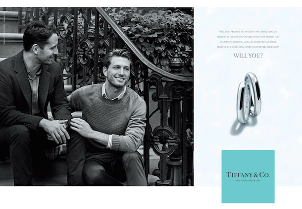 Tiffany & co gay marriage advertisement - 2015