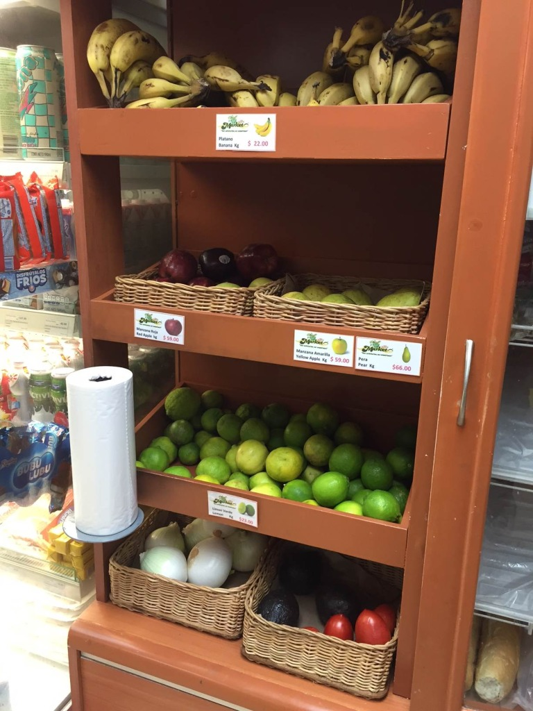 mexico - convenience store fruits