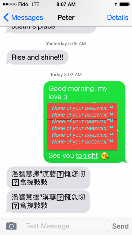 Chinese SMS Haxx