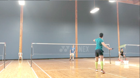 Badminton stop-motion - 1