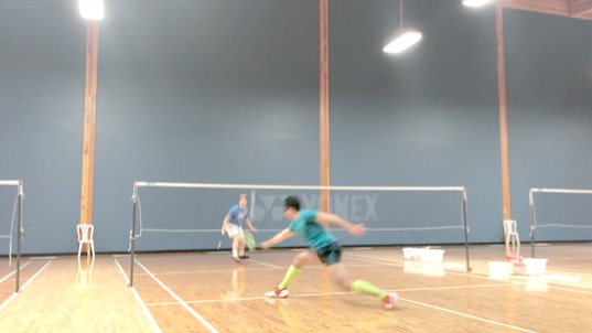 Badminton stop-motion - 13