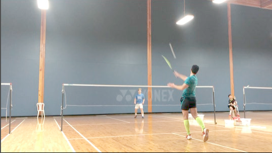 Badminton stop-motion - 2