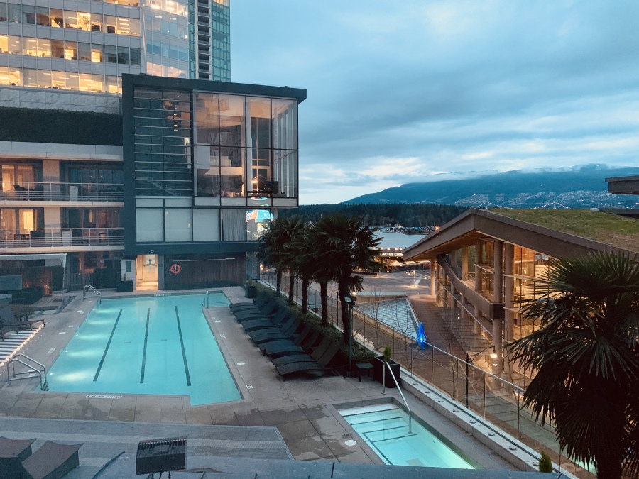 Fairmont Pacific Rim - room with a view