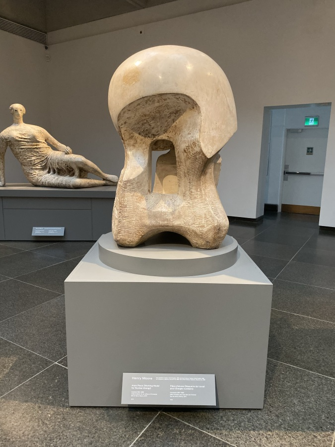 Atom Piece : Nuclear Energy by Henry Moore at AGO - October 2019 - 1