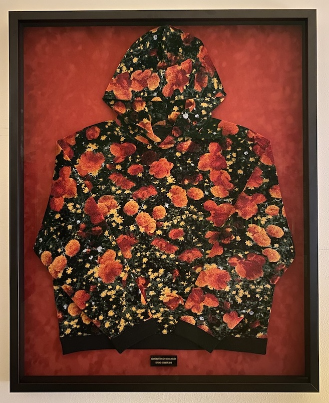 Virgil LV Poppies Hoodie Framed - 1